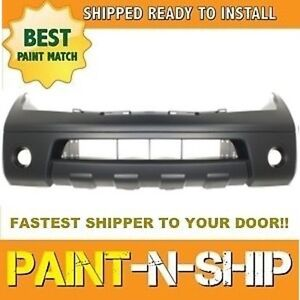 Fits 2005 2006 2007 Nissan Pathfinder Front Bumper Painted To Match Ni1000238