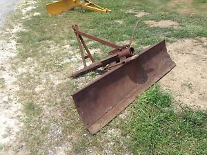 Back Blade 6 Foot 3 Point Hitch