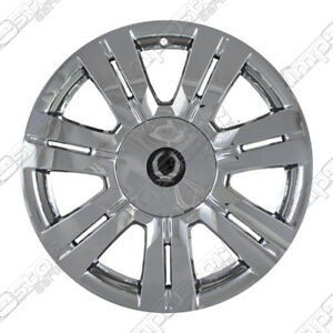 For 2010 14 Cadillac Srx 18 4 Chrome Wheel Skins Hubcaps Covers Center Caps