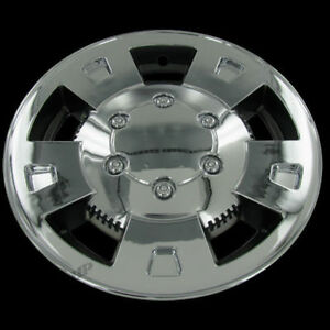For 04 09 Chevy Colorado Gmc Canyon 15 Chrome Wheel Cover Replacement Set Of 4