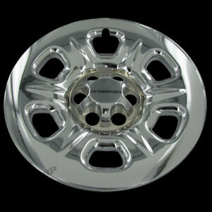 16 Chrome Full Wheel Skins Cover Replacement Hub Caps For Nissan Frontier