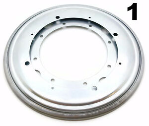 One 12 Inch Lazy Susan Round Turntable Bearing 5 16 Thick 1000 Lb Capacity