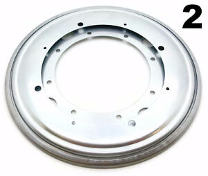 Two 2 Lot Of 12 Inch Lazy Susan Round Turntable Bearings 1000 Lb Capacity