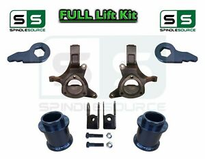 2000 2006 Chevy Gmc Suv Tahoe Yukon Suburban 1500 5 1 Spindle Lift Kit Ext
