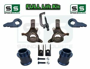 2000 2006 Chevy Gmc Suv Yukon Tahoe Suburban 5 1 Spindle Lift Kit Tool Ext