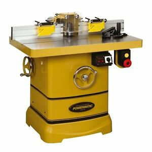 Powermatic Woodworking Shaper 1280101c 5hp 230v 1 Phase Free Shipping