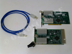National Instruments Pxi 8330 Pci 8330 Mxi 3 Interface Cards W Copper Cable