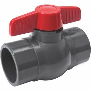 1 2 Pvc Schedule 80 Solvent Weld Ball Valve