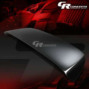 For Ek Ej 96 00 Civic 3dr Hatch Black Spoon Style Rear Trunk Roof Spoiler wing