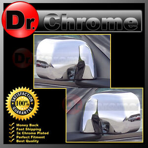 2002 2008 Dodge Ram 1500 2500 3500 Triple Chrome Plated Mirror Cover