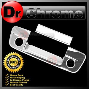 Dodge Ram Truck 1500 2500 3500 Chrome Tailgate Handle Cover W Camera Keyhole