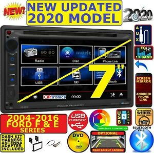 04 16 Ford Mercury Touchscreen Double Din Bluetooth Cd Dvd Usb Car Radio Stereo