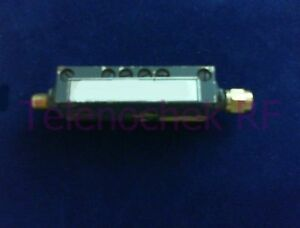 Rf Microwave Band Pass Filter 11 2 Ghz 16 4 Ghz Power 10 Watt Data