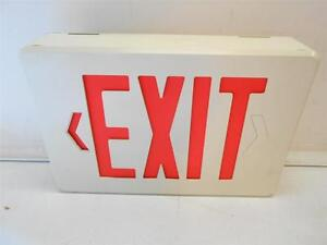Dual Lite Emergency Exit Sign