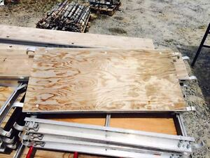A1 Scaffold Aluminum Plywood 19 X 42 Walkboard Plank Scaffold Board