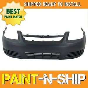 New 2005 2006 2007 2008 2009 2010 Chevy Cobalt W O Fog Front Bumper Painted