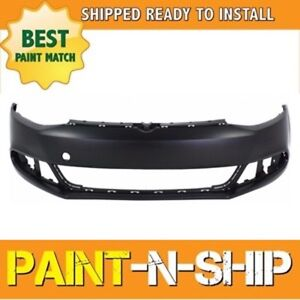 New 2011 2012 2013 2014 Volkswagen Jetta Sedan Front Bumper Painted Vw1000190
