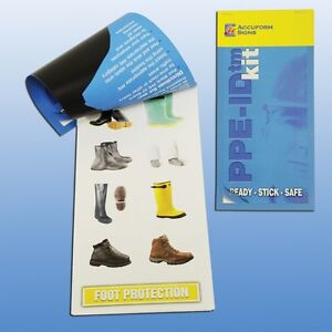 Accuform Signs Personal Protective Equipment Ppe Id Chart Label Booklet