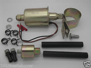 Universal Low Pressure External Electrical Fuel Pump Installation Kits E8012s