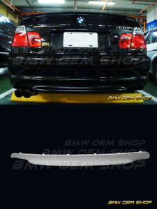 99 06 Unpainted Primed Paintable Bmw M series E46 M tech Ii Zhp Diffuser