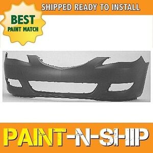 New Fits 2004 2005 2006 Mazda 3 Sedan Front Bumper Painted Ma1000196