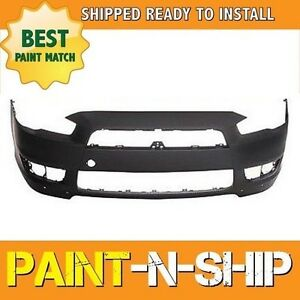 New Fits 2008 2009 2010 Mitsubishi Lancer Gts se Front Bumper Painted Mi1000319