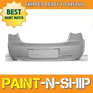 New Fits 2004 2005 2006 Mazda 3 Sedan W O Spoiler Rear Bumper Painted Ma1100174