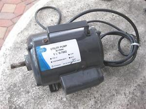 Jabsco Model 11810 7002 Pump Motor No Impeller Great Condition