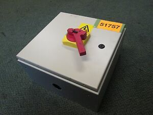 Preco Enclosed Disconnect Switch Sl5000 1 400 1 3335 380v 3ph 50hz 45a Used