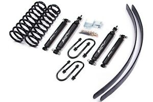 New Zone Offroad J6n 3 84 01 Jeep Cherokee Xj 4wd Lift Kit 8 25 Chrysler Axle