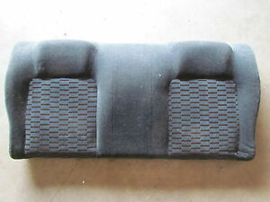 2000 Honda Prelude Rear Seat Back Black With Orange Stiching