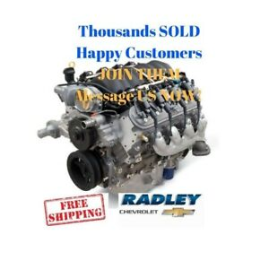 Gm Oem Performance Ls3 376 6 2l Gen Iv 480 Hp Engine 19301358 New Chevy Crate