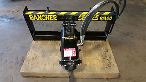 Auger Drive Rancher Series Rm60
