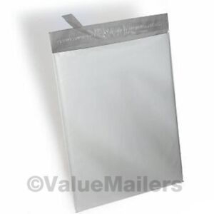 1000 7 5x10 5 Vm Brand 2 Mil Poly Mailers Self Seal Plastic Bags Envelopes 100