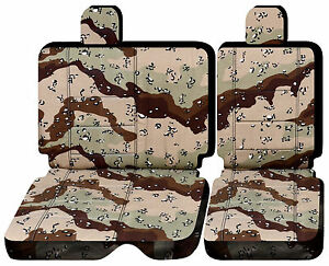 Cc Front Or Rear Bench 40 60 W Headrest Car Seat Covers Choose 0ver 20 Colors