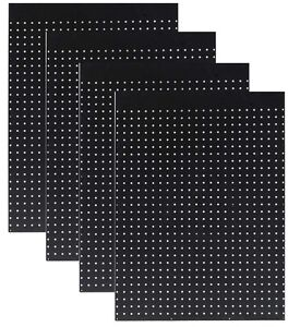 Wallpeg Pegboard Panels Tuff Poly Peg Board Choice Of Size color 2 Or 12 Pk