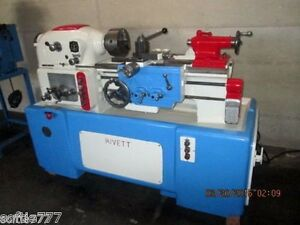 Rivett Model 1020s Toolmakers Lathe High Us Made Quality oc724