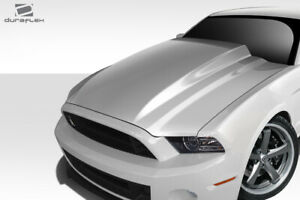 Duraflex Gt500 4 Cowl Hood 1 Piece For Mustang Ford 13 14 Ed_112399