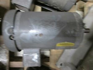 Baldor Motor M1705t 1 5 75hp 460v 2 1 2 2a 1725 850rpm 60hz 3ph Used