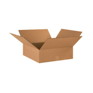 20 22x18x6 Cardboard Shipping Boxes Corrugated Cartons