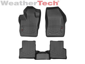 Weathertech Floor Mats Floorliner For Jeep Renegade 2015 2019 1st 2nd Row Black