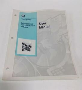 Allen Bradley Get Started With Panel Builder Software User Manual 40061 361 b