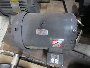 Baldor Double shafted Ac Motor 37h543y833h2 5hp 1160rpm 16 2 8 1a 230 460v Used