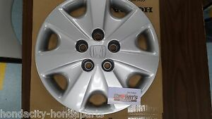 New Genuine Honda Accord 15 Wheel Cover Hubcap 2003 2004 Lx 44733 Sda A00 One
