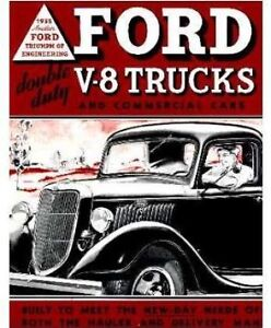 Ford Pickup Truck Steel Running Board Set 35 36 37 1935 1936 1937 Made In Usa