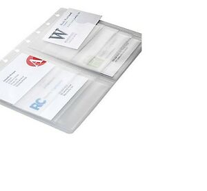 M By Staples Arc System Business Card Holders 8 5 X 5 5 Holds 16 Cards Each