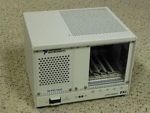 National Instruments Ni Pxi 1033 Chassis 5 slot Pxi Mainframe W Mxi express