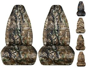 Cc Front Set Yj Tj And Lj Jeep Wrangler Car Seat Covers Camouflage Colors