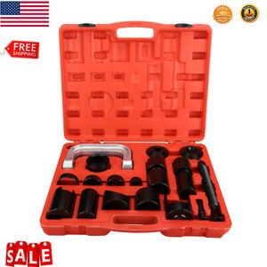 21pcs Ball Joint Auto Repair Tool Service Remover Installer Master Adapter Kits