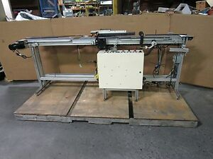 Dorner 2100 Series Flat Belt Conveyor Conveying System Plc Controlled 6 x96